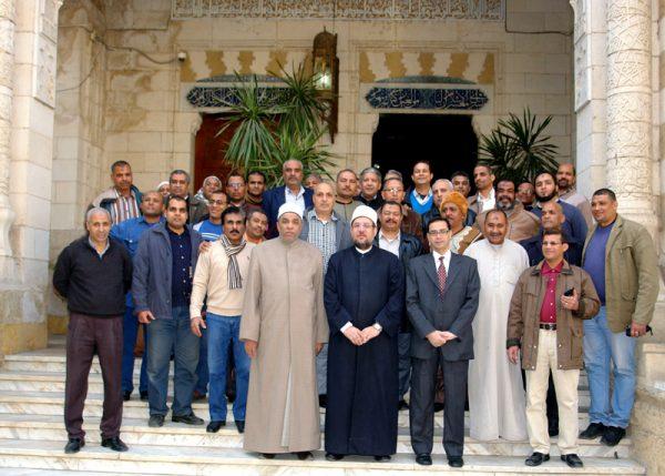 وزير الأوقاف يلتقي فوج الإداريين  المشاركين في معسكر أبي بكر الصديق بالإسكندرية