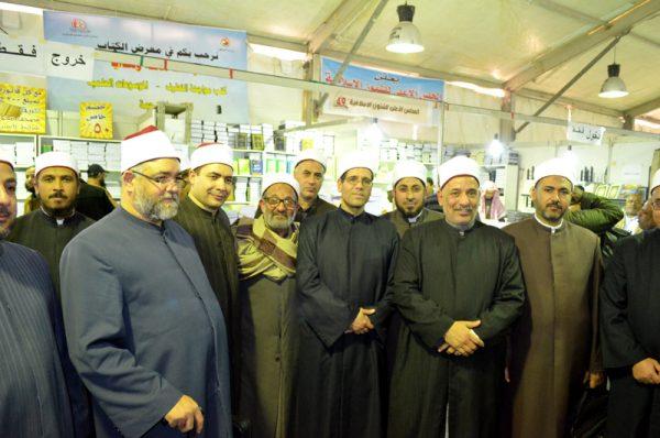 جولات ثقافية للسادة الأئمة  لزيارة جناح المجلس الأعلى  للشئون الإسلامية  بمعرض القاهرة الدولي للكتاب